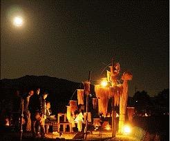 第10回 西の湖ヨシ灯り展