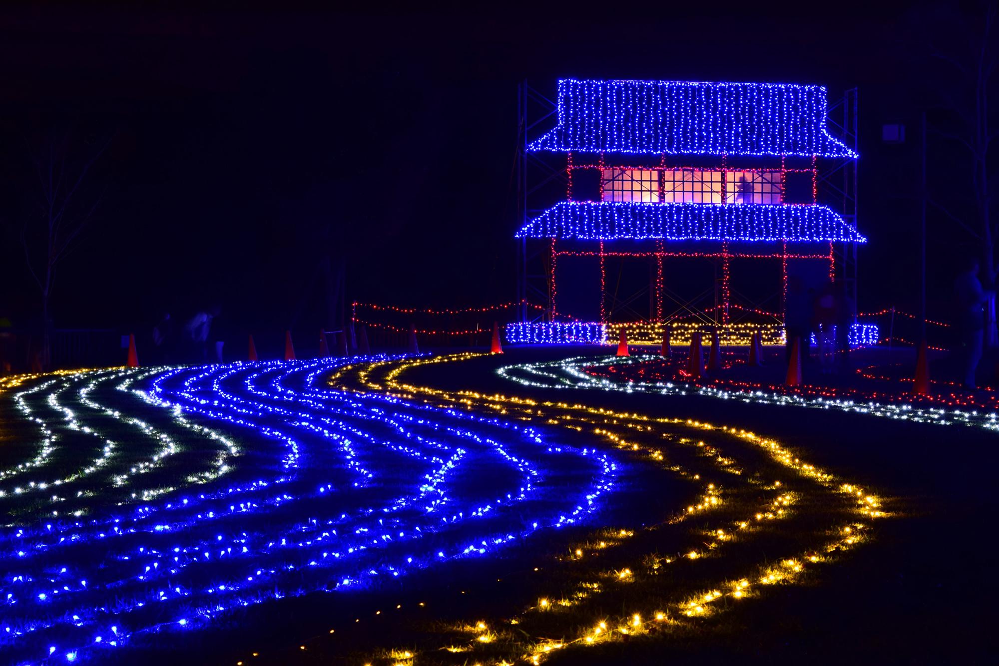 かつての都に思いを馳せる「紫香楽宮 都あかり」