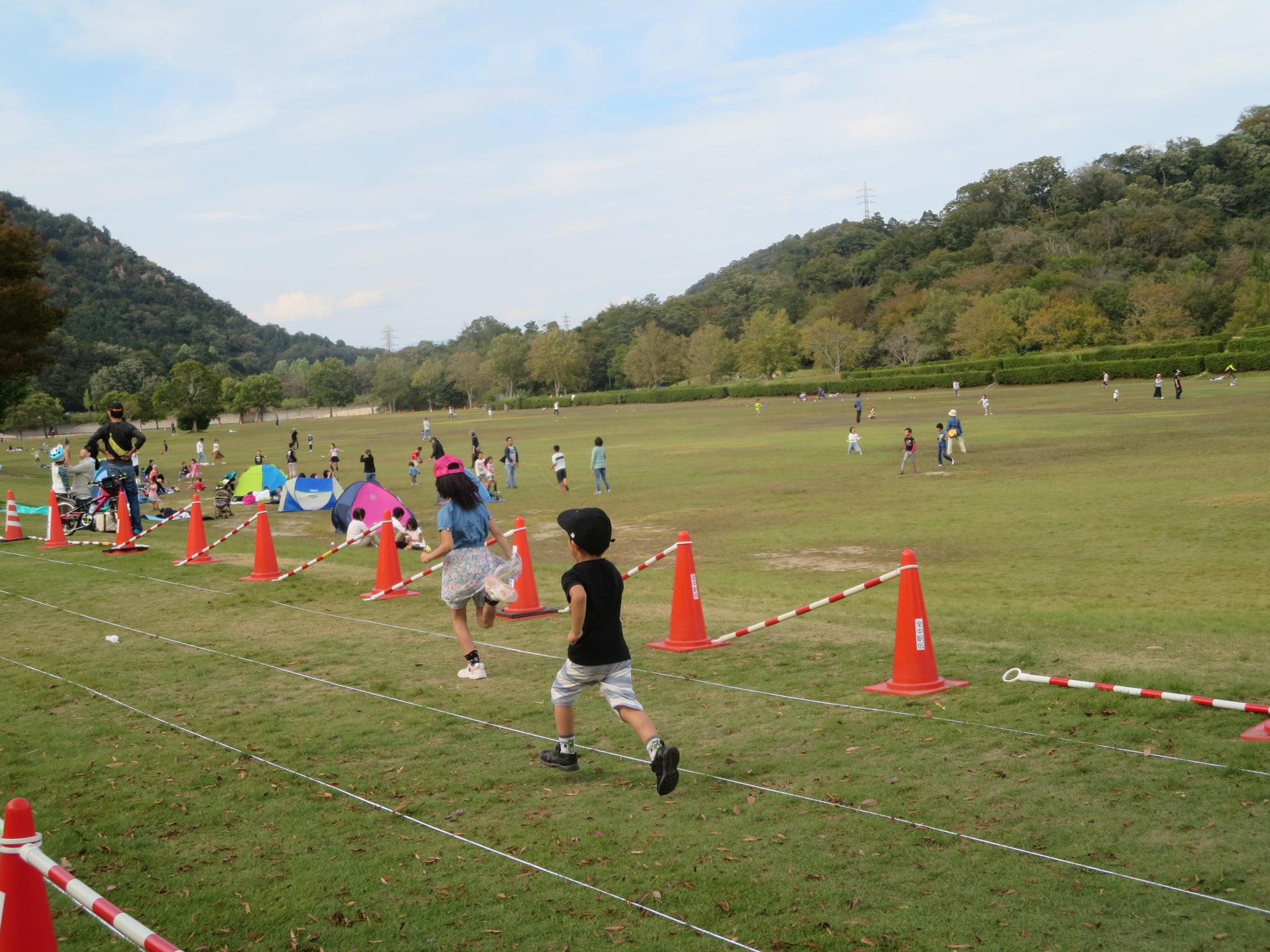 スポーツの秋は、希望が丘で体を動かそう