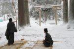 熊野神社 弓取の神事