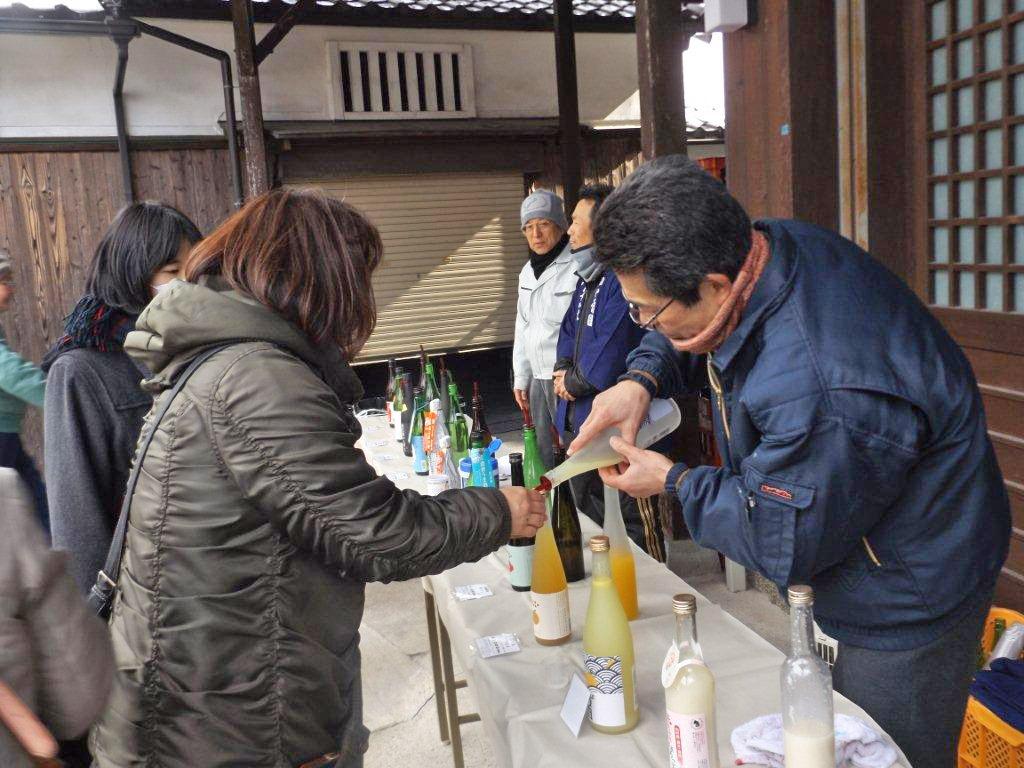 日本酒に誘われ、東海道を歩く~冬の酒蔵めぐり~