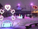雪のイルミネーション「今津ヴォーリズ通り 灯り絵巻」