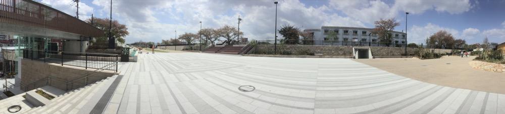 【4/1】草津川跡地公園「de愛ひろば」都市型の公園【草津市】