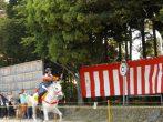 竜王苗村神社「節句祭」のクライマックスはこれだ!