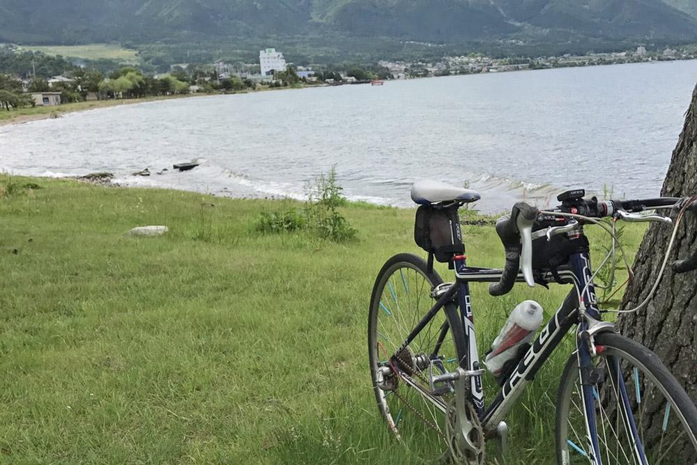 自転車で湖西方面を走ってみた
