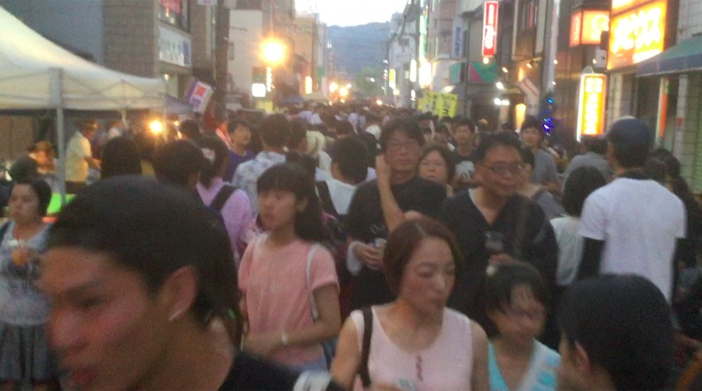 【7/22・29・8/5】夏の土曜は石山の夜市だね。【今年で56回目】