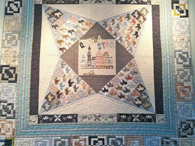 20年以上彦根で愛される、「パッチワークキルト展」へ
