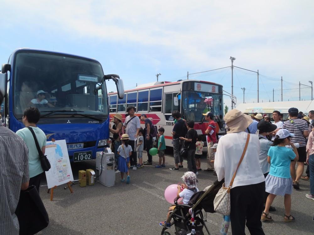 かっこいいバスからレアなバスまで!子どもも大人も盛り上がる「バスの日まつり2017 in びわこ」