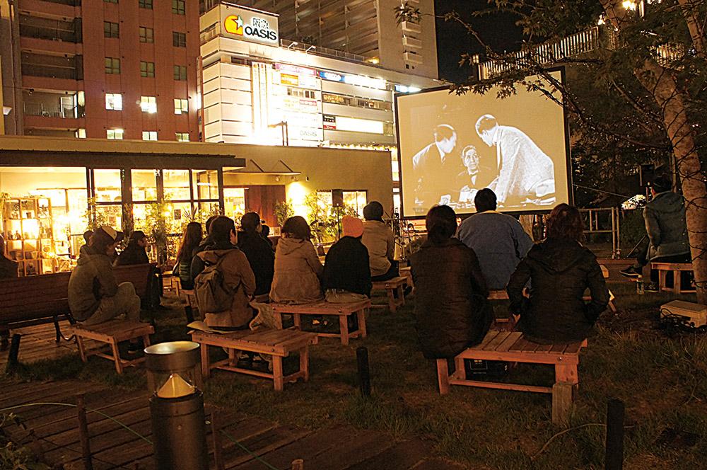 【11/4】みんなで楽しめる野外映画館「星降る映画館」
