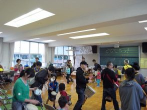 ビビビビッ!子ども体験学校〜 10/28 旧広瀬小学校(高島)