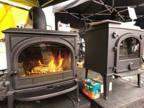 まちの材木店で開催。「火のある暮らし祭り」に行ってきた