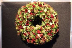 【11/25~12/24】みずの森クリスマスリースコンテスト作品展