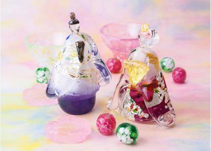 【2018年も開催】黒壁ガラス館の、ガラスのお雛様展