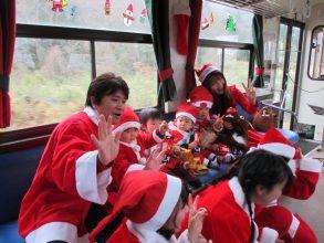 【12/24まで】信楽高原鐵道サンタ列車