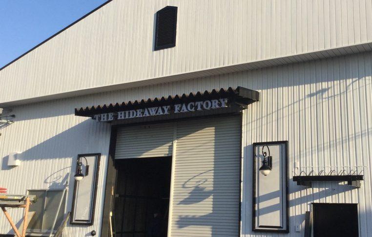 【12/28:プレオープン】倉庫からのセルフビルド!『THE HIDEAWAY FACTORY』【栗東】