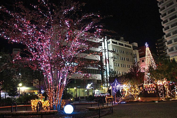 【11/17土~】3万個のイルミネーションが守山の街を彩る!『もりやま冬ホタル』