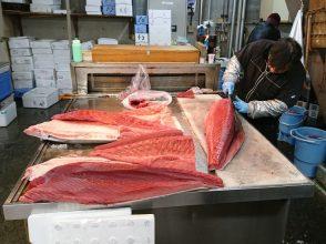 月に一度、一般開放される大津市公設市場の「市場の朝市」に行ってきました!