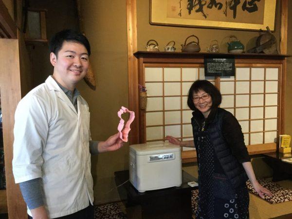 井上貫太さん、井上裕子さん