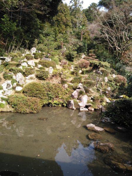 龍潭禅寺だるままつり_鶴亀蓬莱庭園