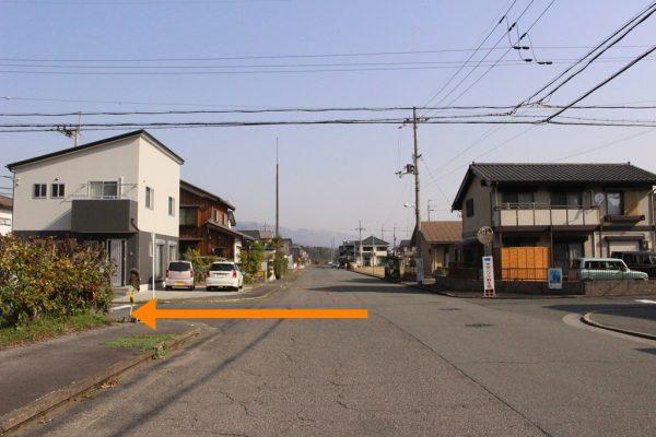 タキノベーカリー道順