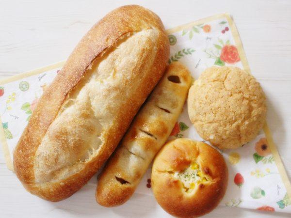 タキノベーカリー購入したパン