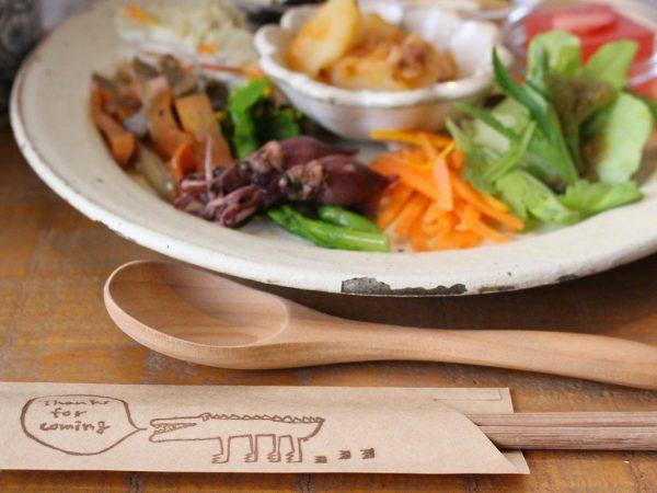 高島ワニカフェ お箸袋