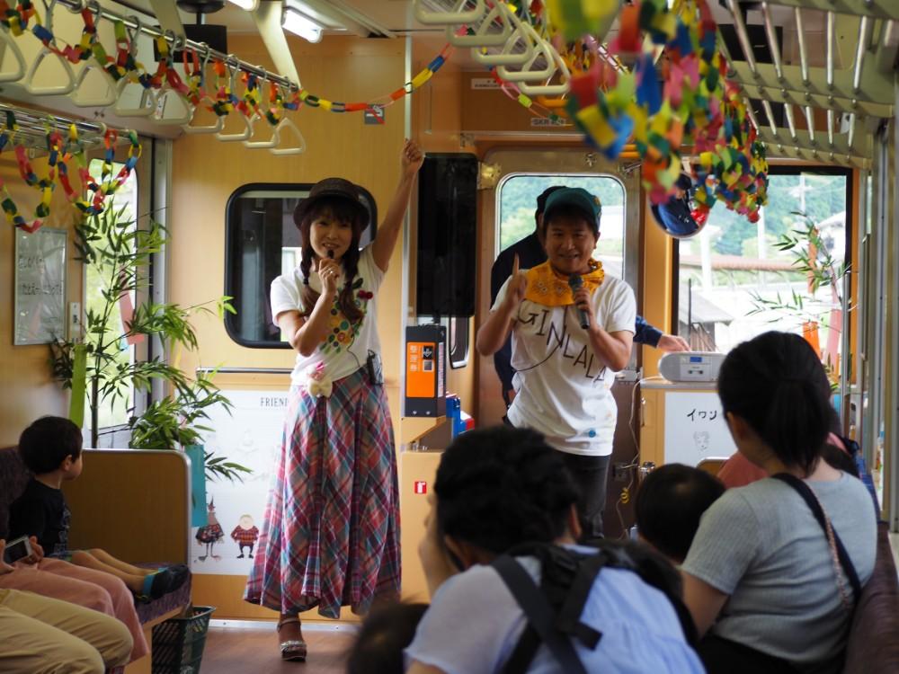 【7/6・7】1日2往復の特別便! 信楽高原鐵道のたなばた列車