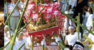 【7/23・24】「けんか祭り」で有名な迫力溢れる「大原祇園祭り」開催!