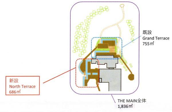 North Terrace マップ