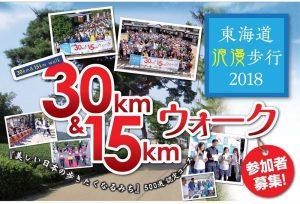 『東海道浪漫歩行2018』参加者募集(9/14締切)石部宿~水口宿~土山宿を歩こう!