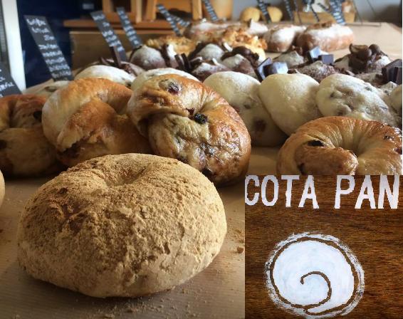 週2回オープンのこだわりパン屋さんCOTAPAN!ひだまりの様な暖かい場所でした。