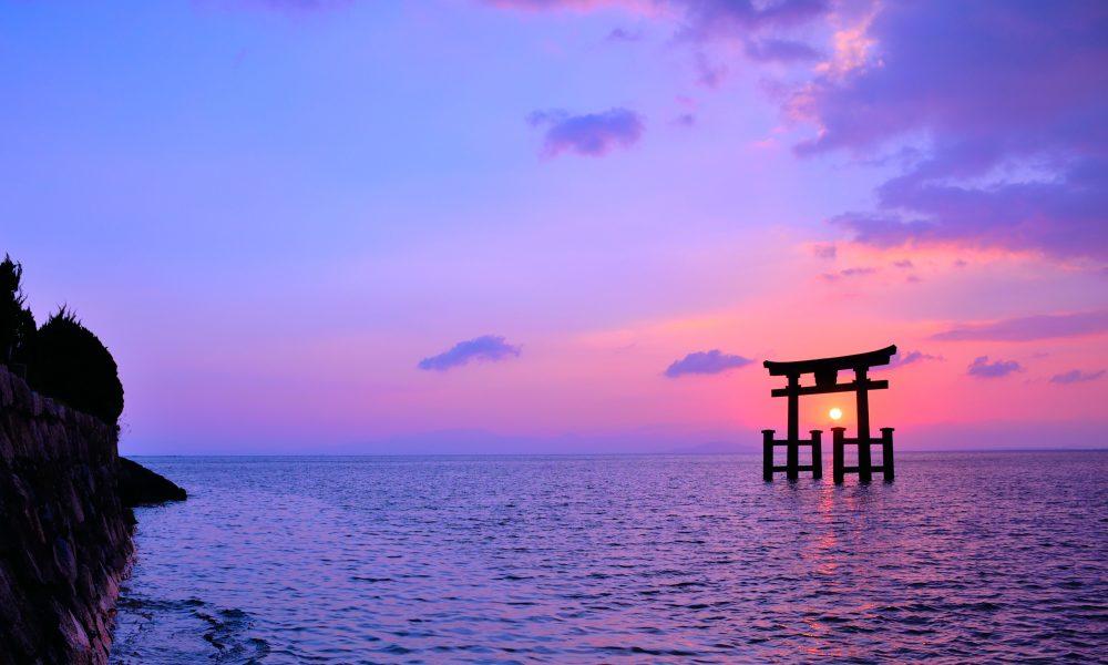 【1/1】白鬚神社 初詣 絶景スポットで初日の出