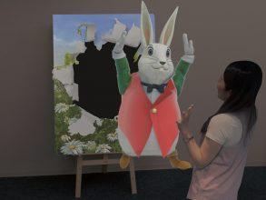 【12/15土~】アリスの世界へワープ!体験型展示in佐川美術館