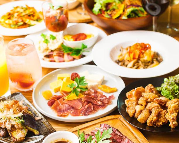 【5/1新店】お野菜バル『Emisai』で旬の野菜とワインで乾杯!