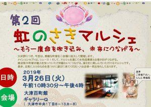 【3/26㈫】リユースをメインテーマに「虹のさきマルシェ」大津の2会場で開催。