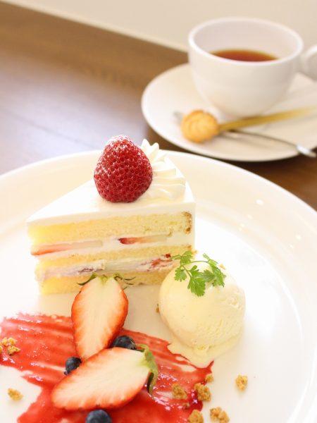 並木カフェ ケーキセット