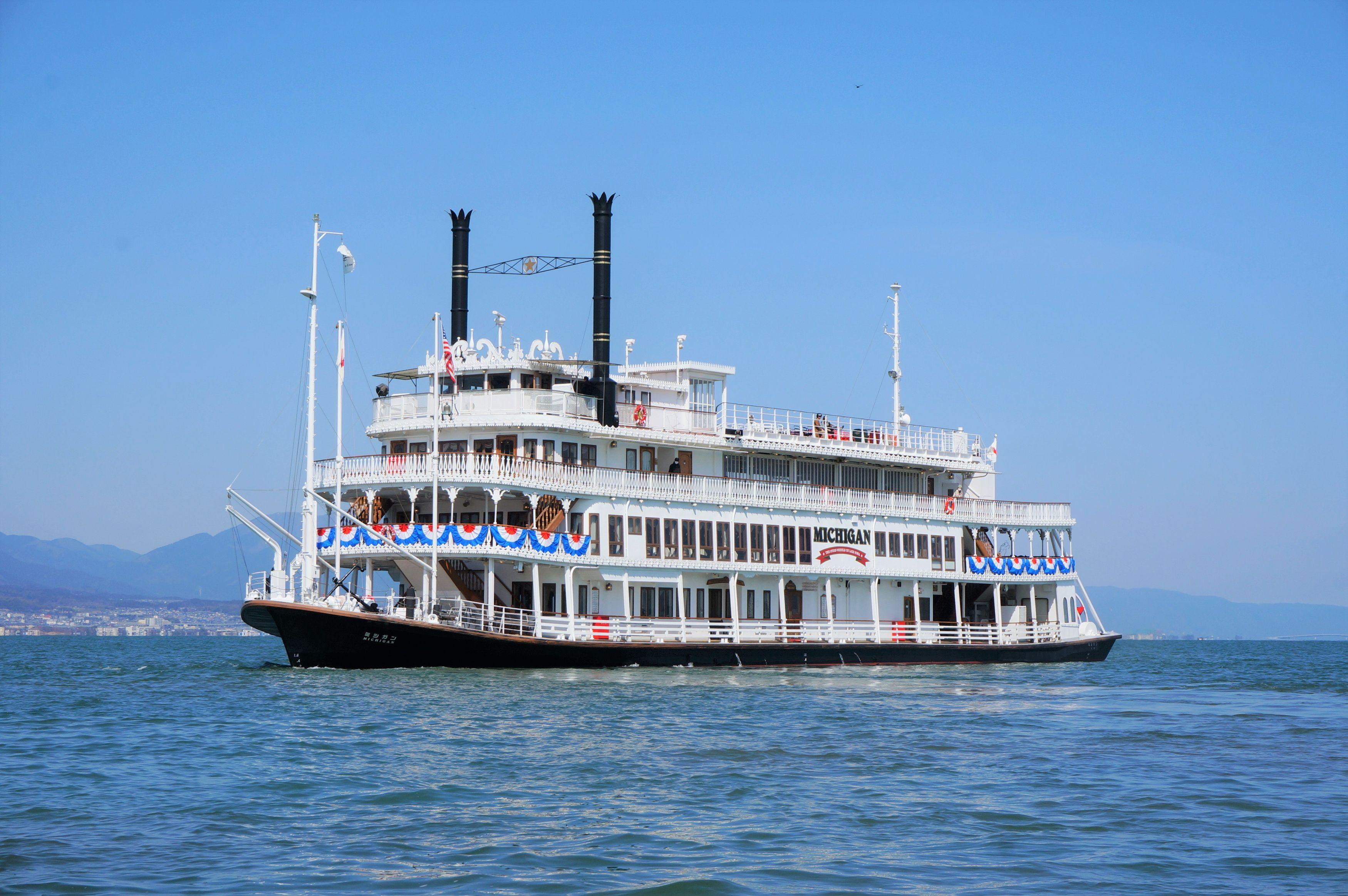【7/1運航再開】琵琶湖汽船・ミシガンクルーズでびわ湖の景色が満喫できる