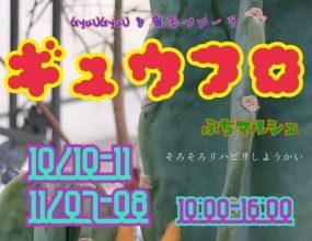 【10/10・11】人気のマルシェが10月は竜王で開催!「ギュウフロ」でお気に入りを見つけて♪(蒲生郡)