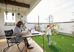 楽しさ膨らむ「屋上庭園」のある暮らしを。  [ガイオスホーム]