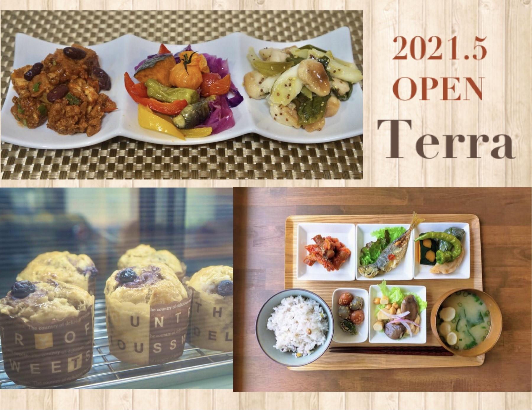 【5月新店】Terra(膳所)畜産肉・卵・乳製品不使用のおばんざいデリカフェ