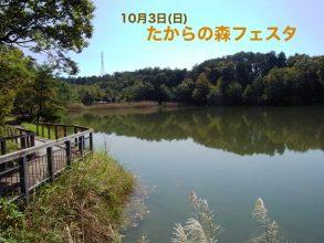 【10/3(日)】たからの森フェスタに行ってきました! in瀬田公園
